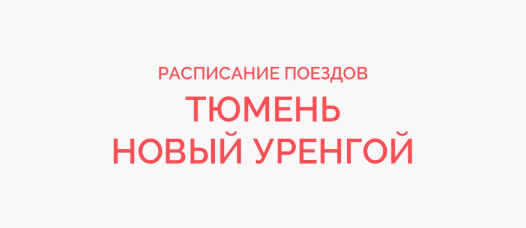 Ж/д билеты Тюмень - Новый Уренгой