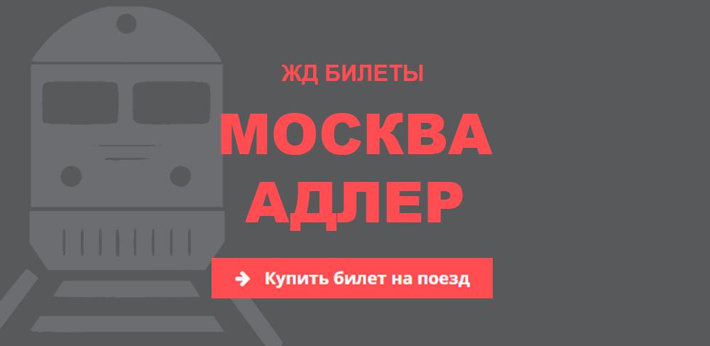 Купить билеты на жд поезд до адлера москва аренда автомобиля круглосуточно без водителя