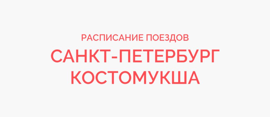 Ж/д билеты Санкт-Петербург - Костомукша