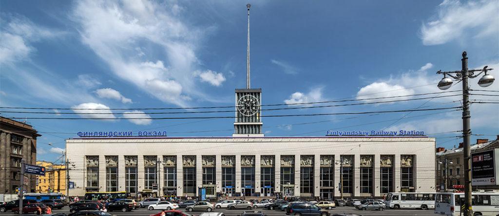 Финляндский жд вокзал Санкт-Петербург