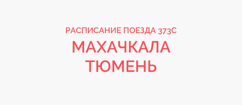 Поезд 373С расписание и маршрут следования, жд билеты